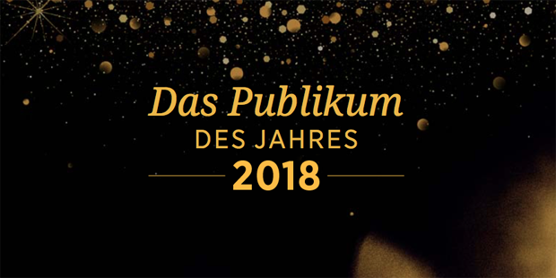 Das Publikum des Jahres 2018