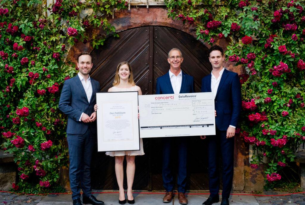 Christian Kotterer, Judith-Richter, Stephan-Schreckenberger und Gregor Burgenmeister © Ute Laux